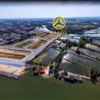 Bán đất trung tâm thị xã Ba Đồn, sát chợ Ba Đồn, sổ đỏ chính chủ, 3 mặt giáp sông Gianh