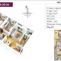 Bán căn hộ quận Tây Hồ - diện tích 83m2 -  giá 3.4 tỷ - Đầy đủ nội thất