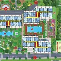 Bán căn góc 62,4m2 (2 phòng ngủ - 2 WC) Block C, tầng cao, view 2 mặt tiền Bùi Cẩm Hổ- Lũy Bán Bích