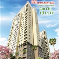 Căn hộ Becamex-Tokyu giá 1,1 tỷ, 3 tháng nhận nhà, thanh toán 4 năm không lãi suất chủ đầu tư