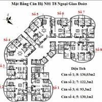 Bán căn số 3 tầng cao chung cư N01T8 Ngoại Giao Đoàn