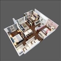 Chung cư Terra An Hưng - Căn hộ 3 phòng ngủ, full nội thất cao cấp chỉ từ 500 triệu