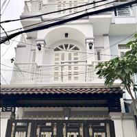 Bán nhà mới mặt tiền đường Nguyễn Thị Đặng, 4x20m, 3,8 tỷ, gần chợ, khu dân cư sầm uất