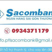 Ban thanh lý tài sản liên kết Sacombank hỗ trợ thanh lý 50 nền đất đã quá hạn, gần Aeon Bình Tân