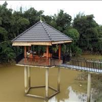 Biệt thự 2,7ha, Thủy Tạ, suối bao quanh, khu dân cư, hiện tại là vườn cam, thu nhập cao, Đại Lào