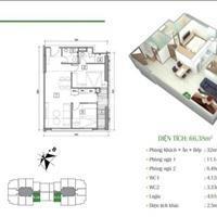 Tôi cần bán nhanh căn 2 phòng ngủ số 15, 66m2 chung cư Eco Dream, giá 2,06 tỷ bao phí