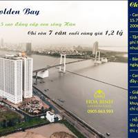 Gấp - Chỉ còn 7 căn hộ 5 sao dát vàng Đà Nẵng Golden Bay - Giá 1,2 tỷ, lợi nhuận 200 tr/năm