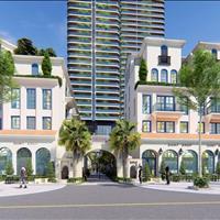 Bán Shophouse mặt đất xây 5 tầng, 1 sàn 134m2, căn góc giá 27 tỷ, mặt tiền lớn, kinh doanh dễ dàng