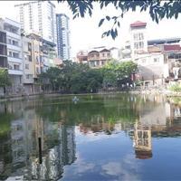 Mặt hồ Khương Hạ, kinh doanh 170m2, 16 tỷ, liên hệ Mr. Trần Đức