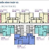 Cần bán gấp căn hộ 4 phòng ngủ - 140m2 thông thủy giá 3,1xx tỷ