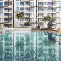 Bán căn hộ Ascent Plaza quận Bình Thạnh căn số 10, 1 phòng ngủ, view Landmark 81