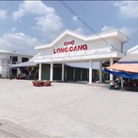 Bán gấp 2 lô đất mặt tiền DT833B ngay chợ Long Cang, Cần Đước 760 triệu có sổ hồng riêng