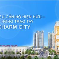 Căn hộ Charm Plaza 2 phòng ngủ chỉ 1,35 tỷ, Vincom Dĩ An