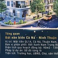 Bán đất sổ đỏ cạnh cảng biển quốc tế Ninh Thuận giá 868 triệu/nền