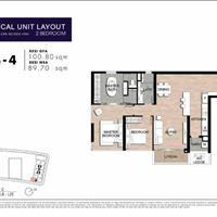 The Crest Residence căn hộ 2 phòng ngủ giá chênh tốt