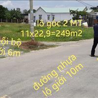 Đất mặt tiền Vành Đai 4, huyện Đức Hòa 249m² (ngã 4 Đức Lập)