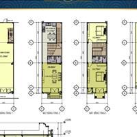 Bán nhà phố 1 trệt 2 lầu diện tích sử dụng 172m2, đường 13m, chiết khấu 1%, 6 tháng, sổ hồng, Dĩ An