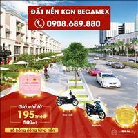 Nhận ngay 3 chỉ vàng khi mua đất nền khu công nghiệp Becamex, 195 tr/500m2, nhận ngay sổ hồng riêng