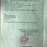 Nền mặt tiền Lộ Ngân Hàng (Trần Nam Phú) - giá 5 tỷ 430 triệu