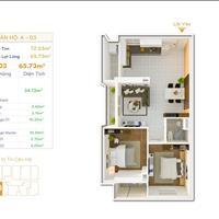 Cần bán nhanh căn hộ Orchid Park, căn góc 2 view sông, 2 PN, 2WC, ban công và sân phơi riêng biệt