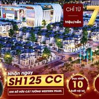 Mở bán 140 căn nhà phố Shophouse trung tâm thành phố Vị Thanh, chiết khấu 5% giá trị sản phẩm
