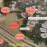 Bán gấp 90m2 đất xóm Miễu dự án Hola Town 1 giáp đại học Quốc Gia Hà Nội, Thạch Thất
