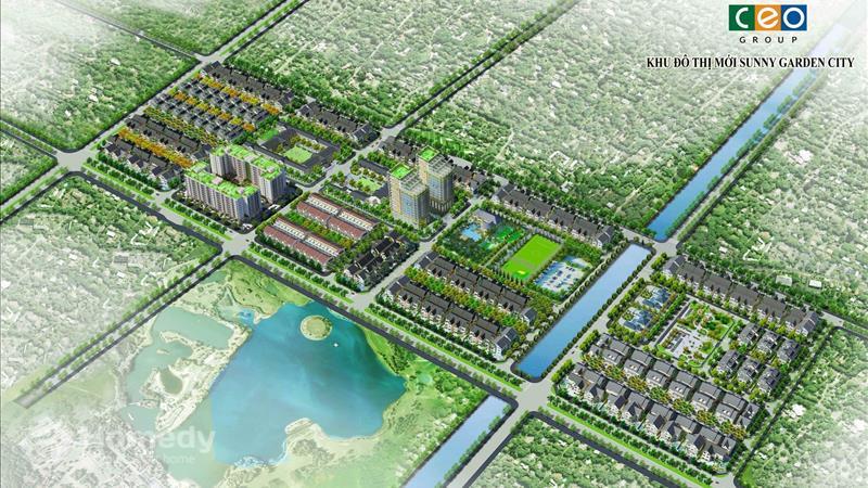 Dự án Khu đô thị Sunny Garden City - ảnh giới thiệu