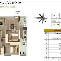 Bán căn góc 08, 76m2, 3 phòng ngủ tại FLC Star Tower 418 Quang Trung, Hà Đông, giá 1,5 tỷ