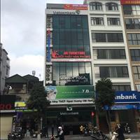 Cho thuê tầng 6 trong nhà 18 Khúc Thừa Dụ thông sàn 150m2