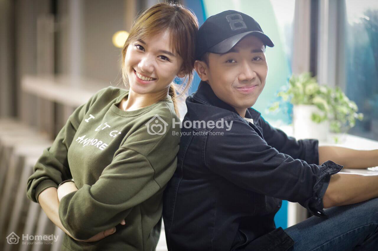 cặp đôi Trấn Thành - Hari Won