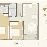 Bán căn hộ Masteri An Phú 2 phòng ngủ, đầy đủ nội thất