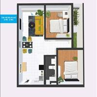 Bán gấp căn Topaz Home 2 diện tích 56m2, 2 phòng ngủ