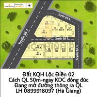Siêu phẩm lô góc khu quy hoạch Lộc Điền 2 - chỉ cách Quốc lộ 50m, vốn nhỏ, thanh khoản nhanh