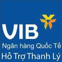 Ngày chủ nhật 20/10/2019, ngân hàng VIB thông báo hỗ trợ phát mãi nhà đất giấy tờ đầy đủ, giá tốt