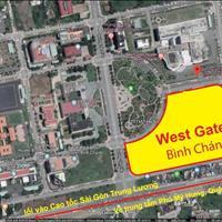 Booking siêu dự án West Gate ngay trung tâm hành chánh và bệnh viện Nhi Đồng 3 giai đoạn đầu