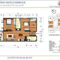 Căn hộ tòa A - 88m2 - 3 phòng ngủ - chung cư Thống Nhất Complex, 82 Nguyễn Tuân