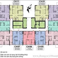 Bán nhanh căn hộ chung cư A10 Nam Trung Yên, căn 1603, 65.5m2, giá 2 tỷ