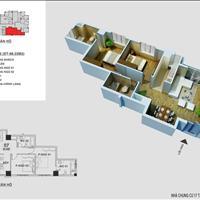 Bán chung cư 17T2 Hapulico – số 1 Nguyễn Huy Tưởng 89m2, 3 phòng ngủ, 28 triệu/m2