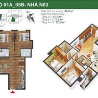 Bán căn hộ chung cư K35 Tân Mai đầy đủ diện tích 63m2 đến 121m2