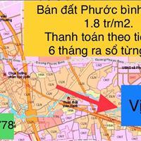 Bán đất Phước Bình, gần khu công nghiệp, phù hợp kinh doanh, giá 1.2 tỷ/1000m2