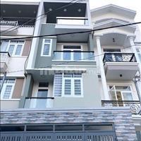 Cần bán gấp nhà mặt tiền Tây Lân 4,5 x 8m, 3 lầu, sổ hồng, 1,8 tỷ