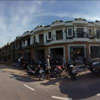 Nhà nhà 1 trệt 1 lầu gần chợ Tân Phước Khánh, sổ riêng, ngân hàng 70%