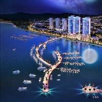 Bán căn hộ view biển dự án La Luna Nha Trang, đối diện bến du thuyền, full nội thất