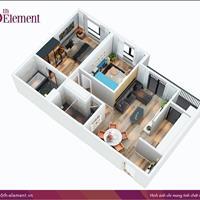 Nhận nhà ở ngay - Vào tên trực tiếp chủ đầu tư căn 2 phòng ngủ 6th Element