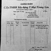 Bán đất biệt thự - khu dân cư Trung Sơn thành phố Hồ Chí Minh