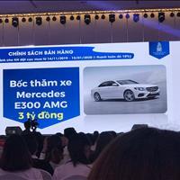 Booking tòa S8, S9 dự án Sunshine City Sài Gòn trúng ngay xe Mercedes E300