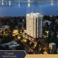 Căn hộ bên Hồ Tây  chỉ 3 tỷ, 3 phòng ngủ, full nội thất chung cư Orient Westlake