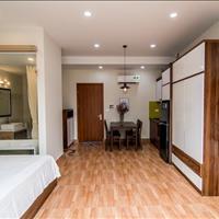 Căn hộ dịch vụ chung cư đủ đồ, 1PN, 1 phòng khách, 45m2, ở Đào Tấn gần Lotte, đại sứ quán Nhật