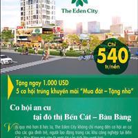Chỉ với 216 triệu sở hữu ngay đất nền đầy đủ pháp lý ở khu đô thị Bàu Bàng