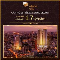 Booking ngay căn hộ Alpha City chỉ với 100 triệu - Chiết khấu lên đến 12,5%